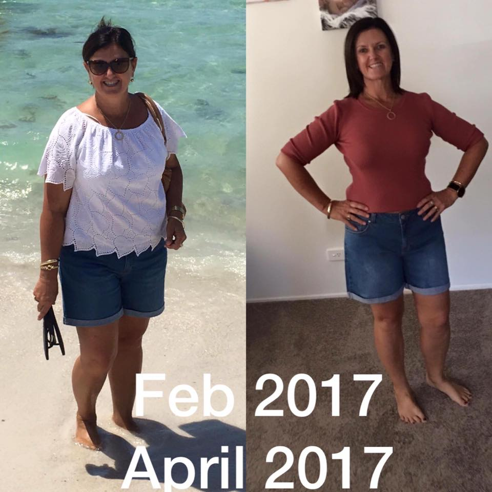 Di has lost 7kg on Karen's Online Body Transformation Programme